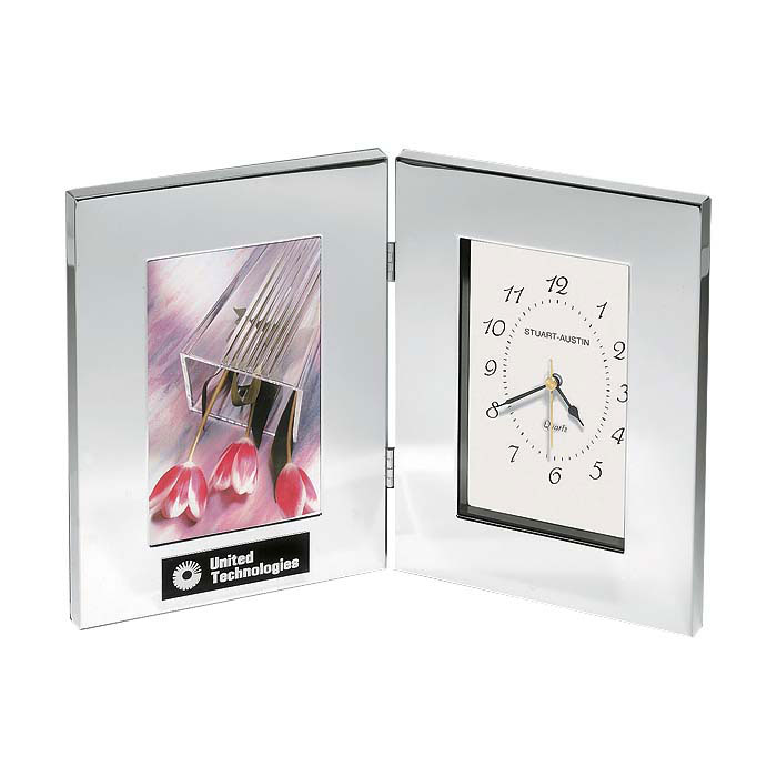 Clock and Photo Frame